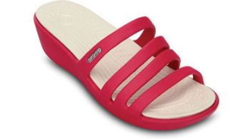 Crocs Womens Rhonda Wedge Sandal